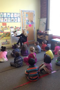 PreK Kids Reading To